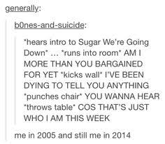 Meme Throws Table - fall out boy haha funny text posts tumblr fangirling lol