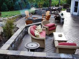 fire pit and outdoor fireplace ideas diy network made with deck