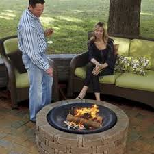 Rumblestone Fire Pit Insert by Pavestone Rumblestone Cafe Kit Round Fire Pit Rsk50169 At The Home