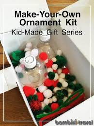 ornament gift make your own ornament kit bambini travel