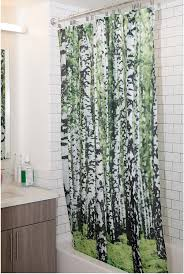 Winter Scene Shower Curtain by Amazon Com Kikkerland Psycho Shower Curtain 72 Inch By 72 Inch