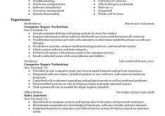 Pc Technician Resume Resume Cover Letters Samples Haadyaooverbayresort Com
