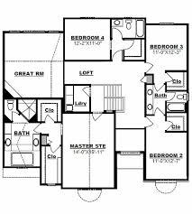 Quad Level House Plans | 2977 sq ft quad level house plan main level floor plan