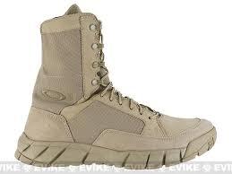 oakley light assault boot z oakley si light assault boot 8 desert size 9 evike com
