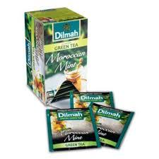 Teh Dilmah dilmah moroccan mint tea teh celup kemasan foil envelope 20s