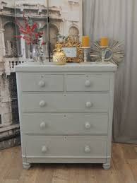 shabby chic victorian chest of drawers tallboy u2013 eclectivo london