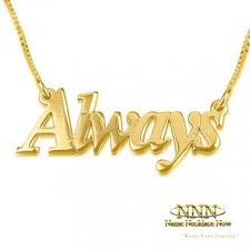 14k Gold Nameplate Necklace Pendant 24 Best Personalized Necklaces Images On Pinterest Personalized
