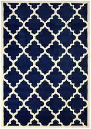 amazon com modela collection trellis modern area rug rugs navy