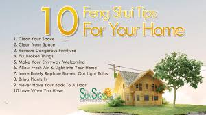 feng shui tips for home room design ideas