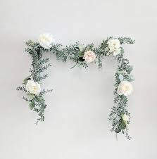flower garland flower garland wedding flowers silk flowers floral garland