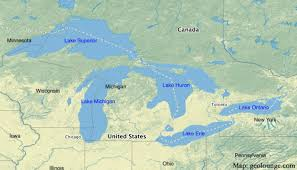canadian map with great lakes geography mnemonics to help learn about the great lakes