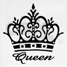 queen hat tattoo queen crown drawing clipartxtras