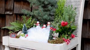 winter fairy garden youtube