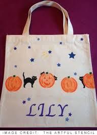 12 diy halloween trick or treat tote bags and drawstring bags ideas yo