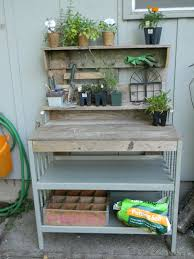Gardening Table Shelstring Blog Baby To Potter
