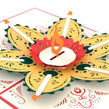 diwali cards 3d diwali pop up card lovepop