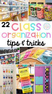 22 organization tips and tricks for the classroom proud to be