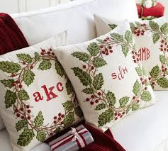 Christmas Pillows Pottery Barn 130 Best Embroidery Inspiration Images On Pinterest Cross