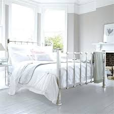 Antique White Metal Bed Frame White Metal Bed Frame Elkar Club