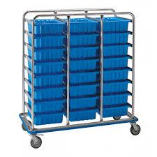 box cart pedigo large tote box supply cart cds 152 24