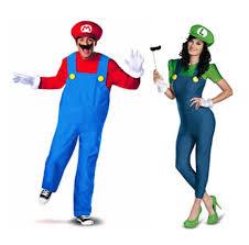 Mario Luigi Halloween Costumes Mario Luigi Halloween Costumes Couples Halloween Costumes