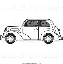 vintage cars clipart royalty free stock vintage car designs of fords