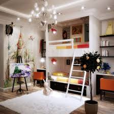 decor pretty room ideas using small bed ant toys shelves for kids pretty room ideas using white bunk bed matched with rug and chandelier for bedroom decoration ideas