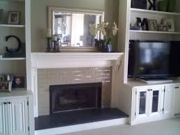 diy shelves around fireplace around a fireplace diy built in