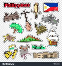 philippines jeepney vector travel philippines stickers badges patches architecture stock