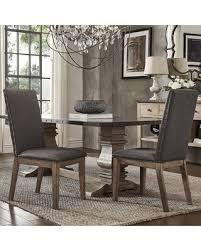 get the deal signal hills voyager wingback nailhead tufted dining