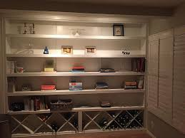 custom bookcases and home library made in san diego