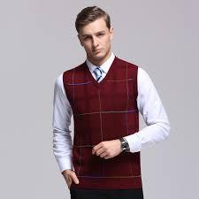 sweater vests mens arrivals 2017 autumn winter mens striped vest
