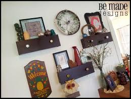 upcycle dresser drawers as hanging shelves 10 ideas diy for life