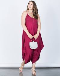 plus jumpsuit plus size comfy draped jumpsuit 2020ave