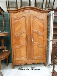 Cherry Armoire Wardrobe Antique French 2 Door Cherry Wood Armoire Cupboard Wardrobe