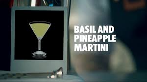 martini pineapple basil and pineapple martini drink recipe how to mix youtube