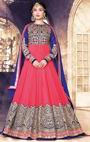 buy anarkali designer dress new model beautiful design for stylish