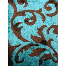 Peacock Area Rug The Most Bedroom Chocolate Brown And Turquoise Rugs Rug Designs