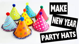 New Year Craft Decorations by Happy New Year New Year Doll Hats Easy Doll Crafts