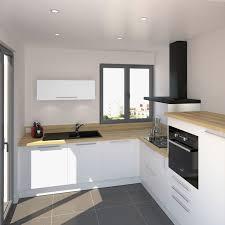 cuisine blanc laqué plan travail bois plan de travail cuisine blanc laque vos idées de design d intérieur