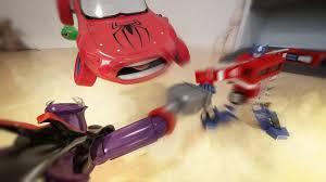 zurg vs optimus prime epic battle toy story fight in bedroom