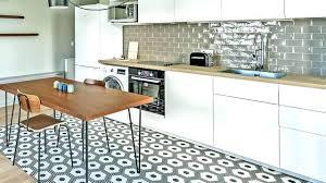 vinyle cuisine tapis cuisine vinyl carreaux de ciment tapis vinyle carreaux de