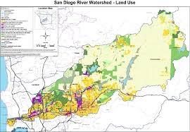 Map Of San Diego Ca San Diego River Map Missouri Map