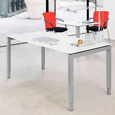 workstation desk wood veneer melamine contemporary basic 4