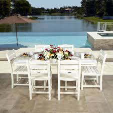polywood la casa nautical dining set la casa cafe polywood