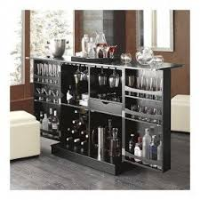 Folding Home Bar Cabinet Liquor Cabinets Foter