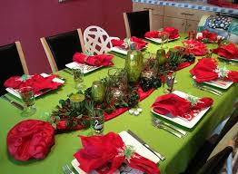 Christmas Table Decorations Christmas Table Decorations Centerpiece Easyday
