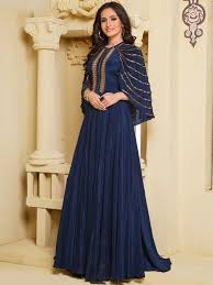 gown design navy blue gown designer gown indian gown party wear gown