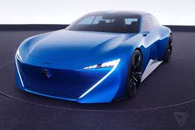 french sports cars peugeot u0027s instinct concept car is its vision of an autonomous near