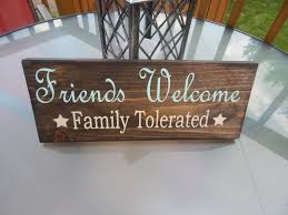 funny welcome funny welcome sign friends family decor porch decor indoor